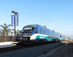 Sprinter Oceanside Transit (2435) (DB's travels) Tags: california railroad oceanside tempcrr