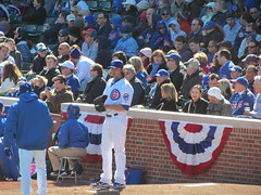 James Russell (debstromquist) Tags: chicago illinois spring il wrigleyfield lakeview pitchers chicagocubs bullpen openingday wrigleyville happynewyear majorleagues baseballteams jamesrussell cubsopener
