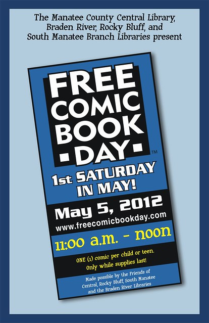 Free Comic Book Day @ the Library