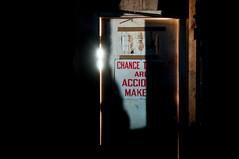 chance takers (Sam Scholes) Tags: door old light shadow building abandoned sign digital dark utah nikon mine industrial decay mining warehouse coal hiawatha d300 kingcoal kingmine usfco unitedstatesfuelcompany chancetakers