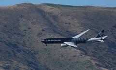 ZK-OKQ at Warbirds over Wanaka Airshow (Deadman's Handle) Tags: newzealand aircraft aeroplane airshow boeing airliner newzealandsouthisland boeing777300 777300 warbirdsoverwanaka wanakaairport zkokq zkokqatwarbirdsoverwanakaairshow