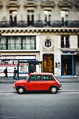 RED CAR IN PARIS (T. Scott Carlisle) Tags: paris france car tsc tphotographiccom tscottcarlisle