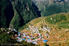 Birds eye view of Namche Bazar ~ Everest Base camp Trek (Rangan Datta) Tags: namchebazar everestbasecamptrek khumburegion trekkinginnepal ebctrek