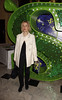 Gillian Anderson 'Shrek The Musical' first anniversary performance held at Theatre Royal - Inside London, England
