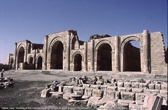 Temple of Baal Shamin at Hatra. (StevanB) Tags: archaeology ancient iraq stevanb