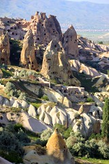 cappadocia (gruntpig) Tags: turkey countryside ancient rocks scenic caves cappadocia goreme rockforms turkey2012 asiaturkey2012