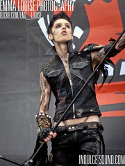 Andy Biersack, Black Veil Brides (Emma.Louise.Photography) Tags: black castle andy festival veil jake stage ashley main saturday jim marshall donnington christian cc download brides purdy coma bvb pitts 9612 biersack jinxx