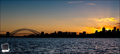 KC5Z3285 (prischl) Tags: light sunset ray harbour north sydney milsonspoint canon1diinifty50wheres