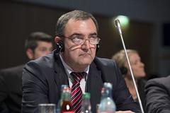 Yaqub Novruzaliyev attends the session