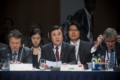 Do-Youp Kwon, Zhenglin Feng attend the session