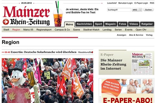 Mainzer allgemeine zeitung bekanntschaften