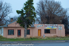 Bob's Museum is falling apart (Dornoff Photography) Tags: abandoned nikon closed idaho bliss smalltown d60 ushighway26 nikond60 bobsmuseum ushighway30