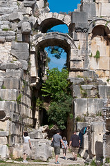 Theatre of ancient Rome: Myra, Turkey (Bernhard Hopke) Tags: holiday turkey geotagged ruins holidays urlaub trkiye ruin ruine trkei tr ruinen myra altertum rmischestheater theaterderrmischenantike theatreofancientrome