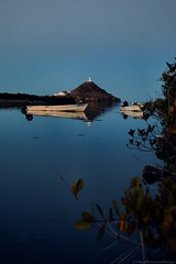 The Sentinel (foxxyz) Tags: tower water river mexico boats bay coast boat bajacalifornia baja bajacaliforniasur sentinel bcs guardpost mulegé