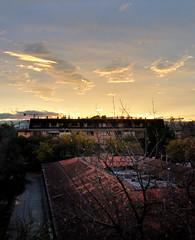 La vista (ifoto.cl) Tags: chile santiago sky atardecer colores cielo ñuñoa thok thokrates nabulen