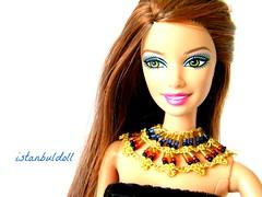 Dolls and Barbie For: Cleopatra Necklace (istanbulldoll) Tags: belt doll egypt barbie tribal hippie cabaret boho gypsy bohemian headband cleopatra headdress fashionistas barbiedolls dollnecklace barbiejewelry dolljewelry barbienecklace ooakjewelry dollbarbieheaddressheadbandjewelry egyptnecklace fashionroyaltybarbiedolls barbiegypsy