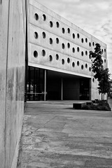 Libary (kamil_z) Tags: city bw white black hradec kralove