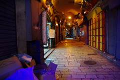Arabian quarter at night (tttske_C) Tags: israel jerusalem oldcity   arabianquarter