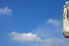 """Über den Wolken muss die Freiheit wohl grenzenlos sein"" (TablinumCarlson) Tags: world leica 2 sky cloud france heritage angel clouds de la site frankreich heaven lyon basilica himmel wolke unesco notredame engel dlux croixrousse fourvière rhônealpes"