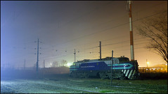 La chica del humo... (Germán Saavedra R. / X'trapotrenes.) Tags: del train tren e breda 32 freight efe locomotora gai empresa estado ferrocarriles talca e32 fepasa carguero