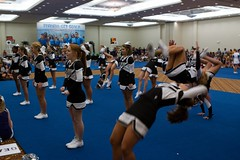 2012 UCA cheer camp Panama City (some NOLA) Tags: school high flip