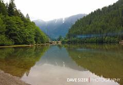 Camping in North Cascades at Diablo Lake