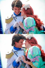 Ariel and Prince Eric (abelle2) Tags: ariel eric princess prince disney parade disneyworld mermaid wdw waltdisneyworld magickingdom littlemermaid disneyprincess thelittlemermaid disneyparade princeeric princessariel disneyprince celebrateadreamcometrueparade celebrateadreamcometrue