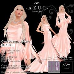 (LimitedSAVIAD)Claro de Luna_Sakura (c)-AZUL-byMamiJewell (mami_jewell) Tags: azul evening spring dress formal gown limited saviad