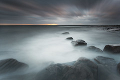 Rocks in a row (- David Olsson -) Tags: longexposure winter sunset lake seascape motion cold nature water clouds landscape movement nikon rocks december sundown cloudy sweden outdoor stones smooth windy row le newyearseve fx grad vr vnern darksky d800 hammar linedup vrmland 1635 ndfilter blackglass 1635mm lakescape nyrsafton gnd lastdayoftheyear 2013 leefilters lenr takene bigstopper davidolsson hammarsydspets 06hard 1635vr