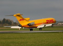 D.H.L  (SNAS Aviation)                        Boeing 727                            HZ-SND (Flame1958) Tags: boeing dub dhl dublinairport 727 2014 b727 0414 b