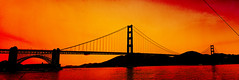 Golden Gate Sunset (RaulHudson1986) Tags: sanfrancisco california city bridge winter sunset sky sun beach water beautiful canon bay amrica day colours exterior view artistic famous goldengatebridge goldengate sanfranciscobay vistas presidio 2014 eeuu 550d raulhudson1986