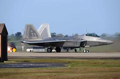 Early Doors (crusader752) Tags: fighter florida raptor f22 usaf usairforce lockheedmartin tyndallafb 95fs raflakenheath 48thfw 95thfightersquadron 054084ty