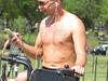 IMG_0403 (FOTOSinDC) Tags: shirtless man tattoo ink candid handsome biker