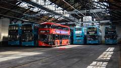 Brixton Hill Tram Depot (KLTP14) Tags: london training garage hill tram depot brixton nrm arriva dla lt726