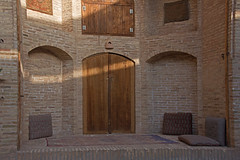 caravanserai (=Mirjam=) Tags: travel beautiful architecture hotel iran middleeast culture silkroad iranian mei tradition enroute yazd refurbished 2016 caravanserais zeinodin stayingovernight nikond750