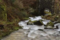 Ruta del agua (Txemari Roncero) Tags: madrid longexposure mountain water rio river landscape agua nikon paisaje largaexposicin sierrademadrid nikkor1685 nikond7000 txemarironcero