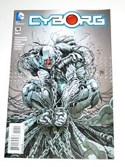 dc comics cyborg issue 10 june 2016 comic (tjparkside) Tags: game june stone comics star book justice dc lab comic 10 albert machine books super victor lucas human doctor cover labs ten end vic jl horn powers cyborg sales issue league wolfman direct regular watanabe 2016 ferreira