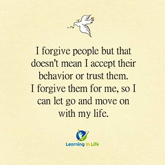 I Forgive People (learninginlife) Tags: life trust accept behavior forgive