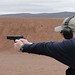 2010 SHOT Show - Media Day at the Range - Wilson Combat 1911 Being Fired