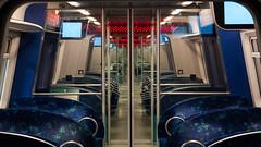 S-tog (Bo Gaarde) Tags: train reflections nikon publictransportation strain dsb stog farum lineb automaticdoors offentligtransport linieb dedanskestatsbaner nikonafs50mmf18g nikond7100