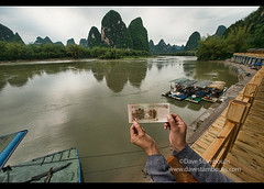 The famous 20 yuan view of the Li River at Xingping, Guangxi Autonomous Region, China (jitenshaman) Tags: china travel mountains nature water river landscape asian liriver li bill scenery asia guilin yangshuo famous chinese icon bamboo limestone destination raft peaks karst iconic yuan currency guangxi xingping worldlocations