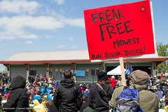 Whiting, IN Break Free 2016 (Survival Media Agency) Tags: midwest oil climatechange climatejustice breakfree keepitintheground