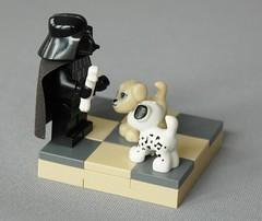 Vader's puppies (adde51) Tags: dark puppy star starwars puppies lego side wars vader vignette moc vig adde51