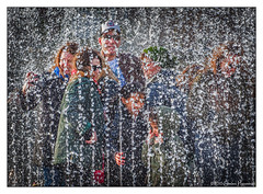 Water Wall (Cold Fun in Color), Rijksmuseum, Amsterdam (GAPHIKER) Tags: street family water netherlands amsterdam wall museum wow square box explore rijksmuseum brilliant waterwall selfie museumofthenetherlands