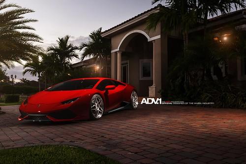 Lamborghini Huracan Rosso Mars