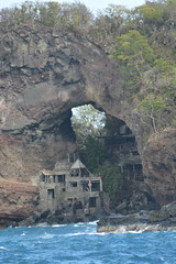 Moonhole in Bequia with the hole in the rocks. (vbvacruiser) Tags: cruise vacation caribbean bequia silversea silverwind moonhole stvincentandthegrenadines