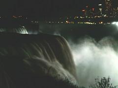 american falls at dark (clubsummerlands) Tags: usa tourism niagarafalls engineering niagara falls americanfalls