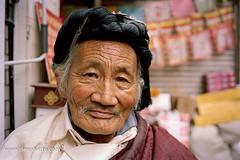 Buddhist Monk in Little Llasha, Chengdu (Dean Harte) Tags: nikon f6 nikonf6 filmphotography kodakportra160 buddha buddhism buddhist buddhistmonk streetportrait analogue littlellasha chengdu china asia asian