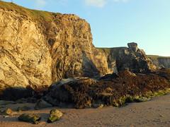 Rocks at Holywell Bay (@crantock) Tags: sea cliff beach bay coast holidays cornwall walk rocky atlantic coastal rugged cornish kernow holywell