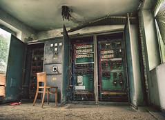 Control room (Ivan Vrani hvranic) Tags: abandoned tripod croatia olympus hdr omd urbex em10 rakitje samyang12mm
